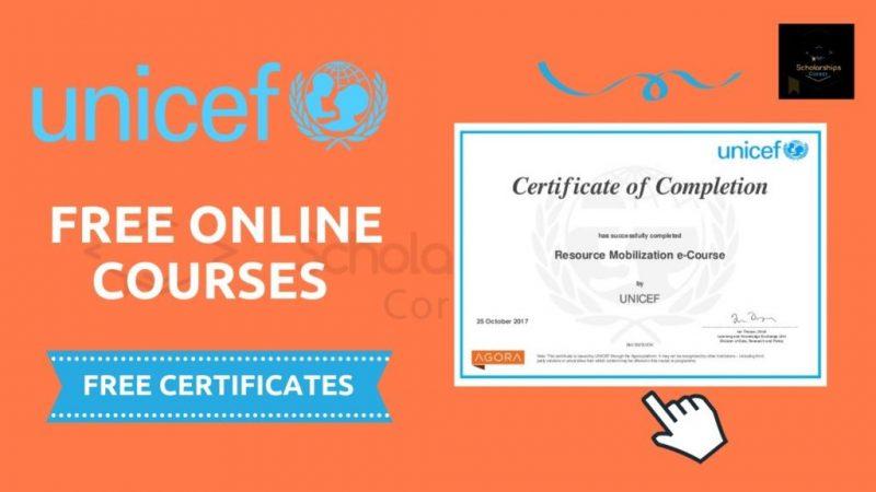 Cours en ligne avec certification de l'UNICEF